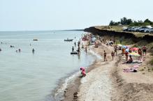 Пляж Приморский в станице Должанская