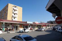 Большой торговый ряд на улице Кирова в Геленджике