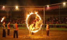 На коне сквозь огненное кольцо
