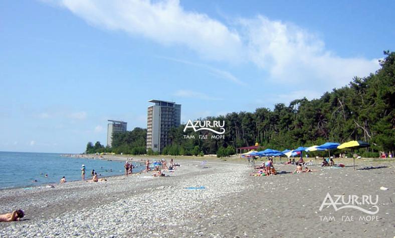 пицунда фото пляжа