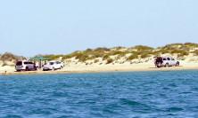 Дикие пляжи между Витязево и Благовещенской