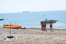 На туапсинском пляже
