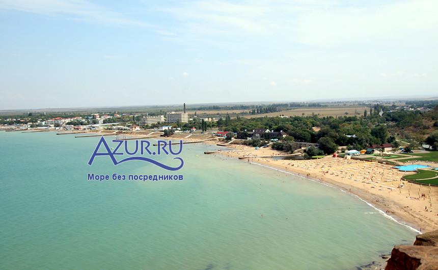 Пляжи в Песчаном Угловом и Береговом Бахчисарайский район
