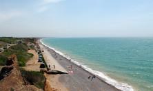 Пляжи между Береговым и Николаевкой