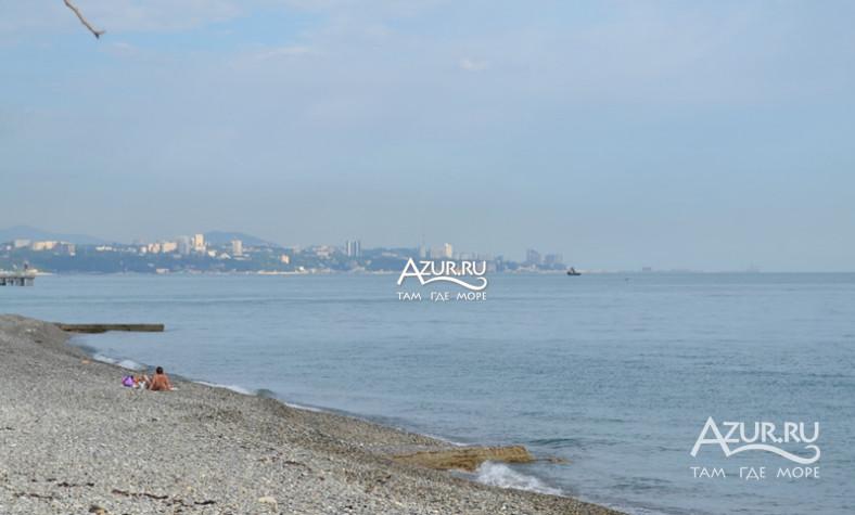 Фото нудистского пляжа в Лоо  azurru
