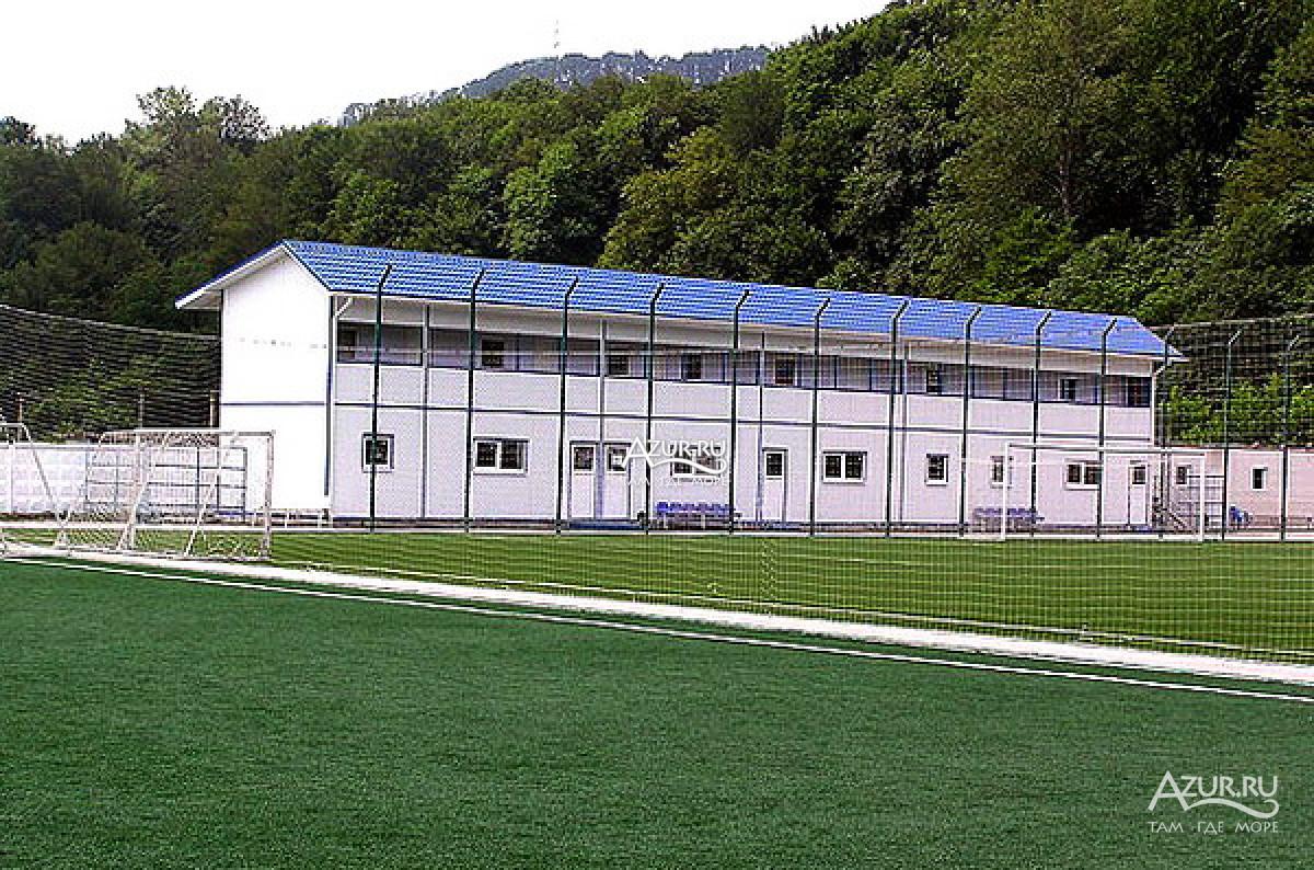 Турбаза в головинке фото футбольного поля