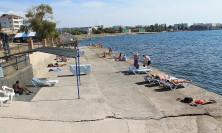 Пляж яхт-клуба Юг