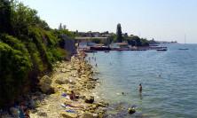 Дикий пляж Ушаковская балка