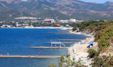 Пляж детского лагеря Надежда в Кабардинке