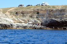 Ленивый пляж на Тарханкуте