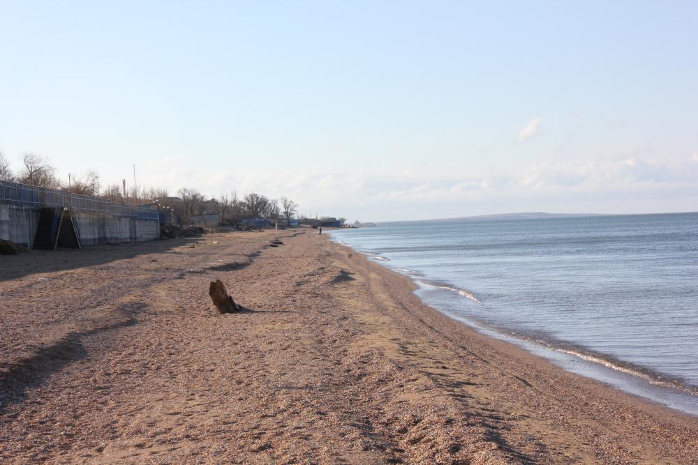 Отдых в голубицкой на азовском море фото пляжей