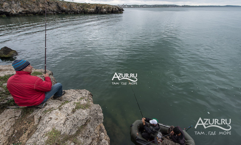 рыболовные базы в щелкино крым
