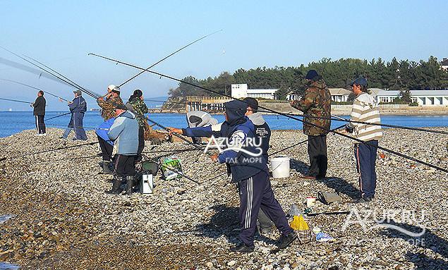 рыбалка в дивноморском