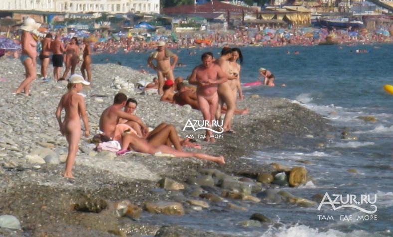 Пляжи курорта Лоо  Azurru