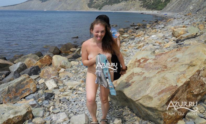 Ровинь, нудисткий пляж Видео