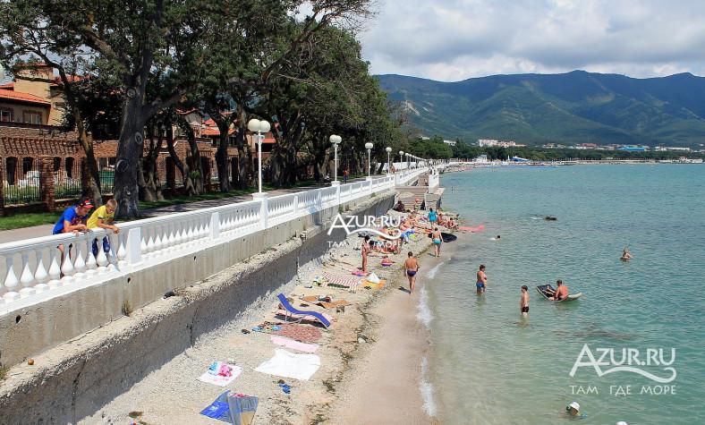 геленджик песчаные пляжи фото