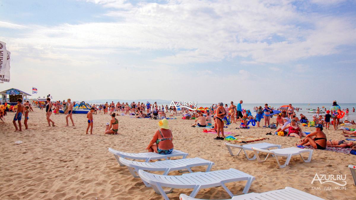 девочки показать фото пляжа витязево в июле после можем организовать
