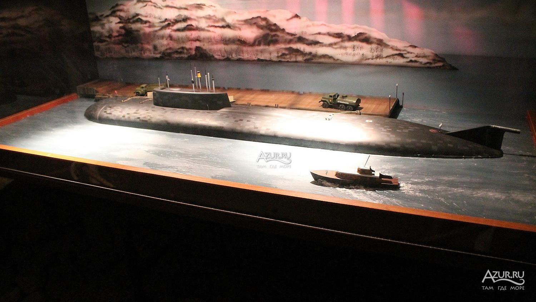 Атомная подводная лодка Курск | Фотографии Малореченского